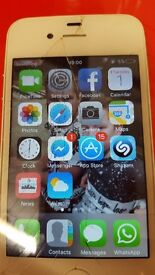 Iphone 4s cracked and no charger