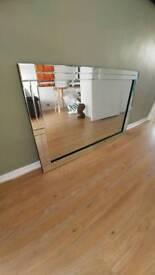 Large glass mirrow