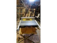 DeWalt DW744 Table Saw