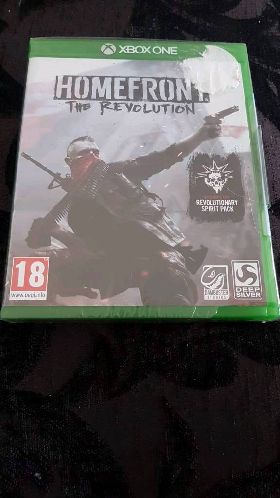 Brand new and sealed Homefront the revolution xbox one