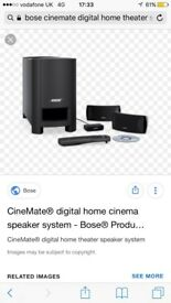 Bose home cinema system
