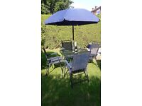 6 piece Patio set in good condion.