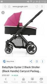 Oyster 2 pram and buggy