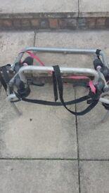 Halfords bicycle car rack