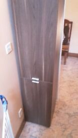 Walnut colour syorage cupboard