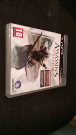Assassins Creed 3 for PS3