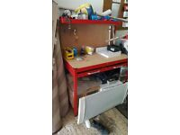 Clarke CWB-R1 Workbench (Red)