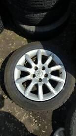 Vauxhall 16inch alloys