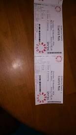 Sleaford mods gig tickets x 2 Tonight 10th Nov