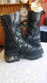 New Rock Boots Size 40 (7) Womans
