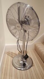 Fan, practically new.