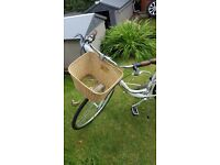 Raleigh Caprice Ladies Bike with Basket