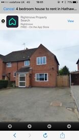4 Bed Family home to rent
