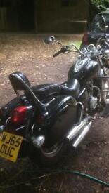 Pioneer 125 motorbike