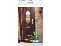 Beautiful pvc front door