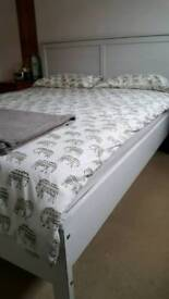 King size bed and mattress SOLD