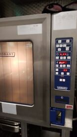 Hobart 10 Grid Combination oven Natural Gas CSD1013G