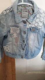 Girls Next Denim Jacket Size 4-5