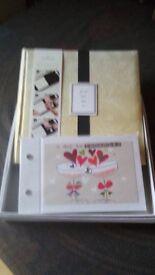 Wedding memory book and album