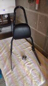Harley Davidson Fat Bob One Piece DETACHABLE Sissy Bar