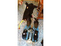 Ladies scuba diving gear