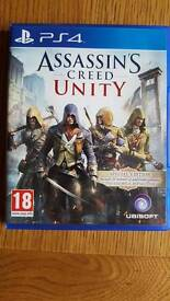 assassins creed unity ps4 with additional content