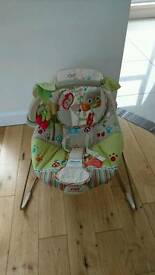 Fisher Price Happy Forest Bouncy Chair