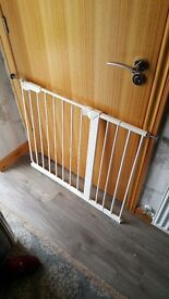 Stair gates with extensions x 2