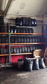 Cheap part worn tyres - starting at £12!! We also sell new tyres cheap!