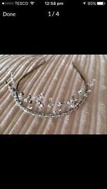 Sparkly bridal Tiaras