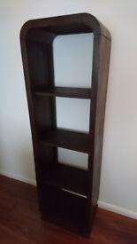 Stylish Dark Brown Bookshelf