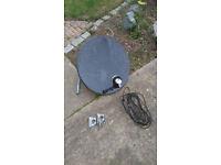 Sat Dish Satellite Dish - Sky