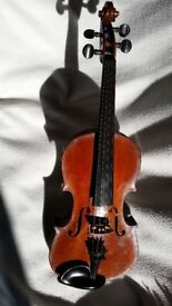 "Antique Violin - ¾ size, 22"" long"