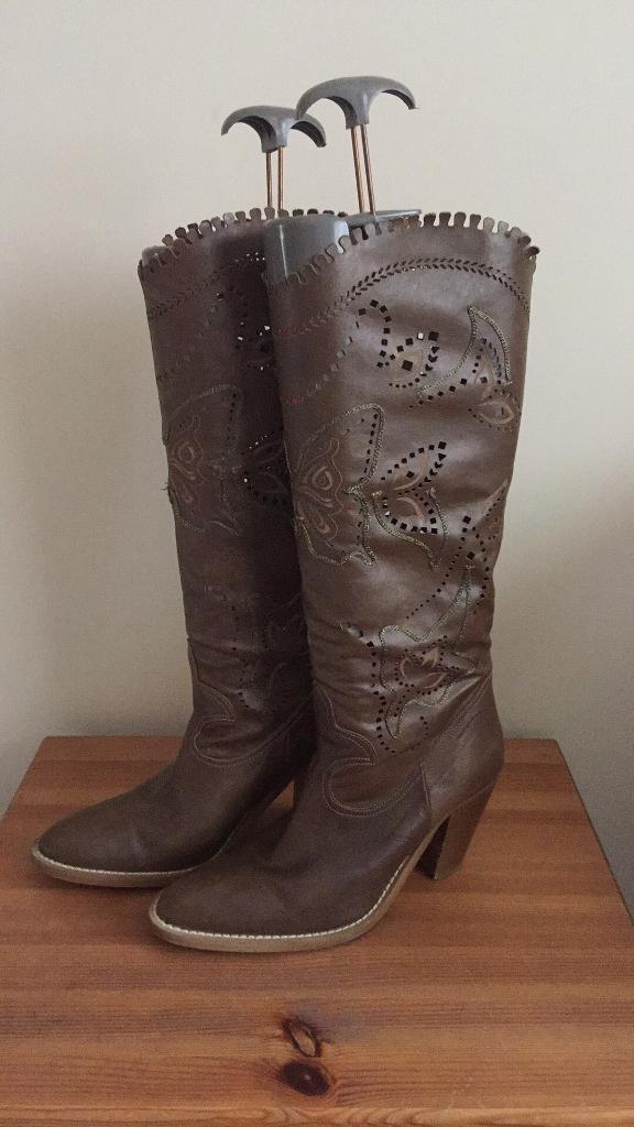 Next brown boots 6.5 great condition