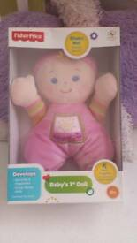 fisher price first doll