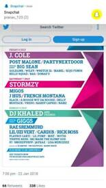 Wireless Festival Tickets x 3 Saturday 2018