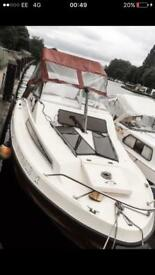 Boat for sale live able 2+2 shetland