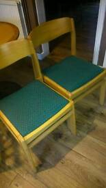 2 free chairs
