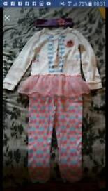 Disney Doc McStuffin onesie/dress up outfit 3-4 years unworn