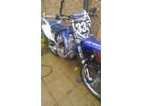 2009 YZF450 RUNS AND RIDES A1