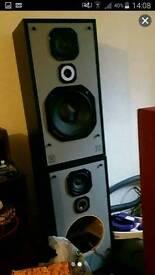 Sub and speakers