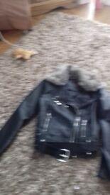 Leathet jacket