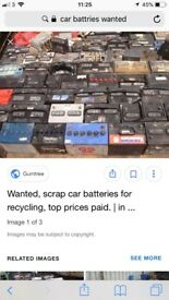 Car batteries bought