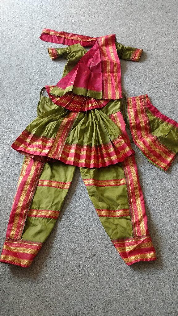 Indian Classical Bharatnatyam dress