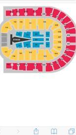 Lower tier sam smith tickets block 110 row h