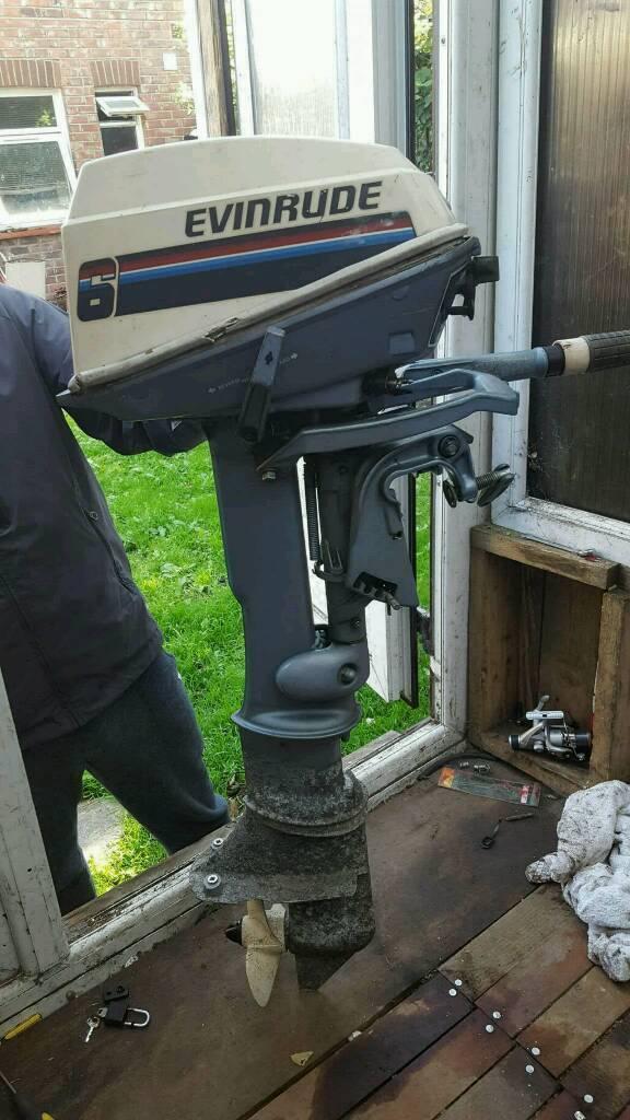 6hp evinrude outboard