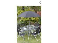 8pcs garden patio furniture