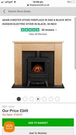 Adam Chester Stove Electric Fireplace