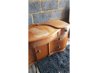 SOLID WOOD DRESSING TABLE + FREE DELIVERY