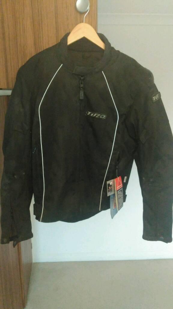 Tuzo hurricane motorcycle jacket. Brand new. Size 42